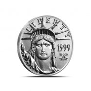1/4 oz US American Platinum Eagle Coin | Random Year