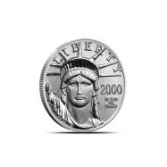 1/10 oz US American Platinum Eagle Coin | Random Year