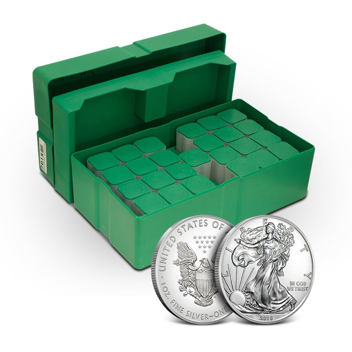 2018 American Silver Eagle Monster Box