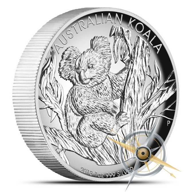 2013 1 oz Proof Silver Koala | High Relief