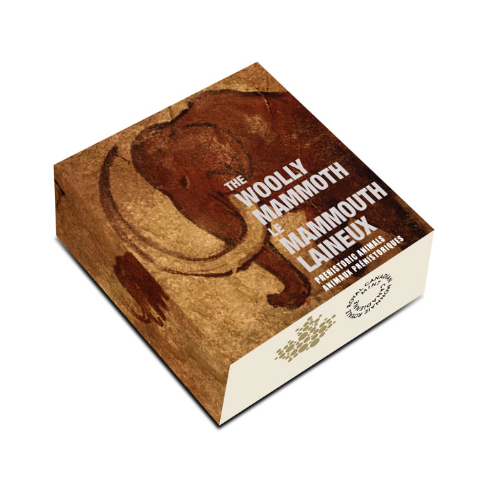 2014 Silver $20 Prehistoric Animals | The Woolly Mammoth Box