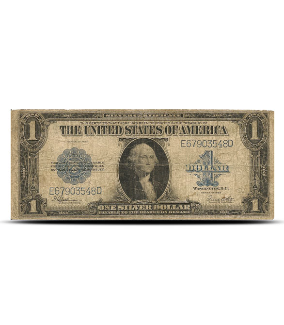 1923 $1 Silver Certificate | Large Size | Very Good to Fine