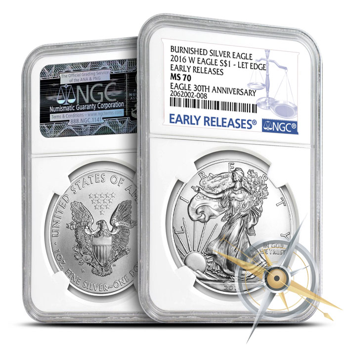 2016 Burnished Silver Eagle
