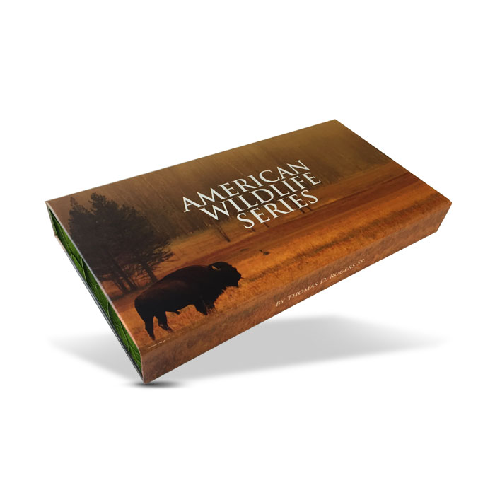 American Wildlife Series Complete Silver Set | Display Box