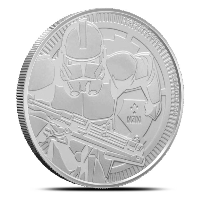 2019 Niue Clone Trooper 1 oz Silver Coin