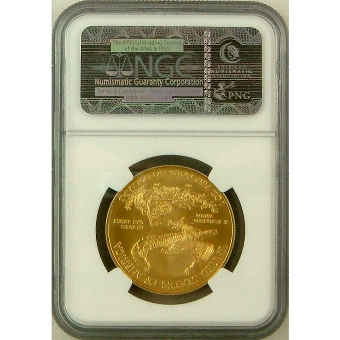 2010 $50 Gold Eagle NGC MS69 | Early Release-6091