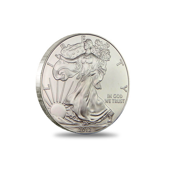 2012 San Francisco American Silver Eagle Monster Box Bullion Coin Obverse
