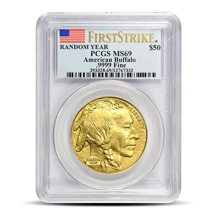 1 oz American Gold Buffalo PCGS MS69