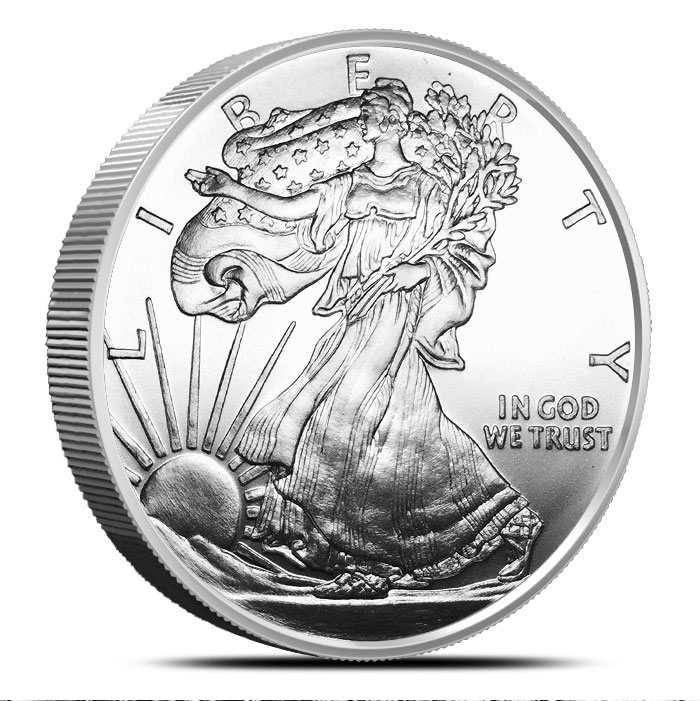 Walking Liberty Silver Round