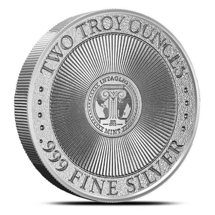 2 oz Silver Round | Molon Labe Type 4 Back