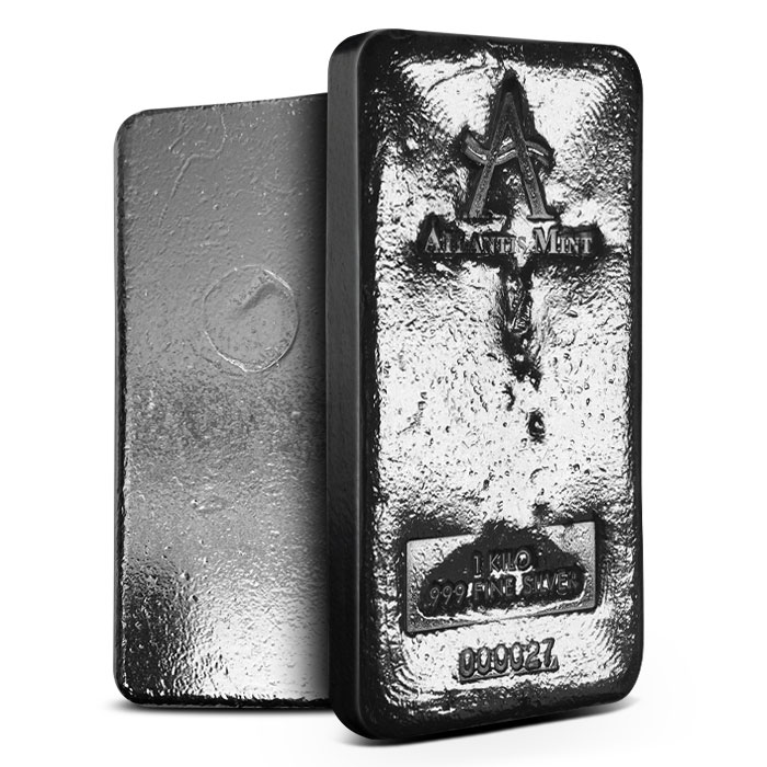 Atlantis Mint Kilo Silver Bar