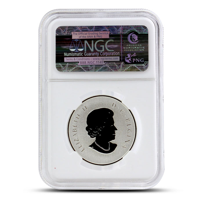 2015 1/2 oz $10 Silver Year of the Sheep | NGC SP70 Reverse