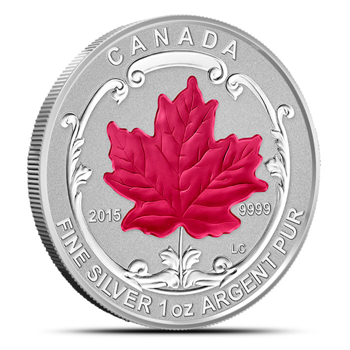 2015 Canadian Silver Fractional Set - Maple Leaf
