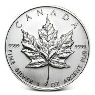 Canadian Maple Leaf 1 oz Silver Coin Random Year