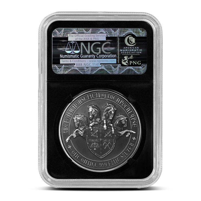 NGC White Horse of Conquest | MS70
