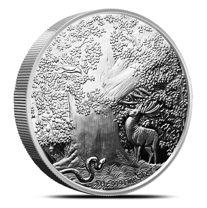 5 oz Silver Nidhoggr Proof Coin