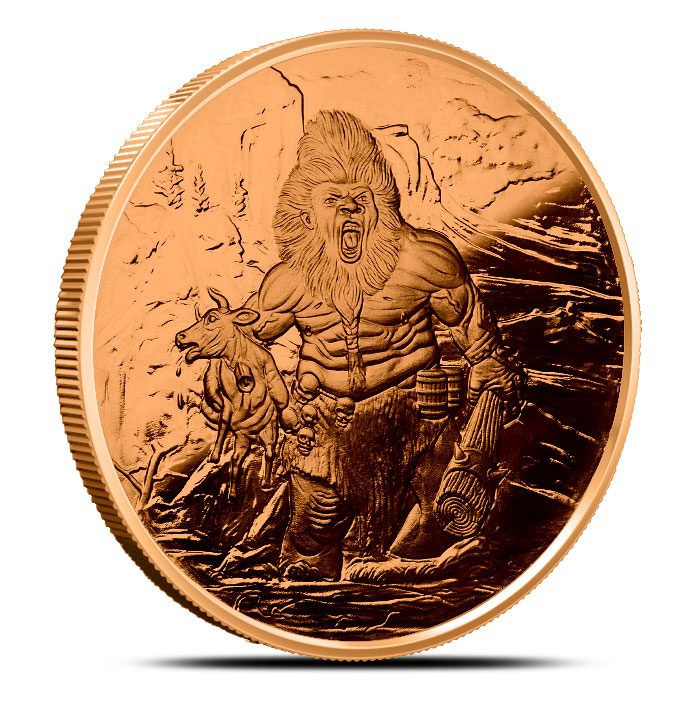 Frost Giant Copper Coin