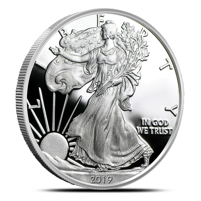 2019 Proof American Silver Eagle Obverse