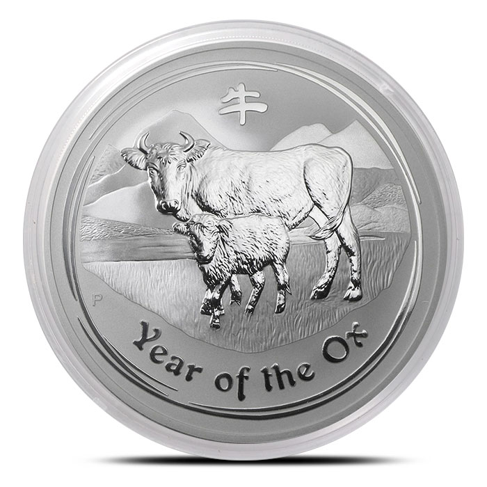 2009 Australia 10 oz Silver Year of the Ox