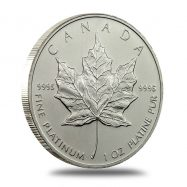 1 oz Canada Platinum Maple Leaf Coin