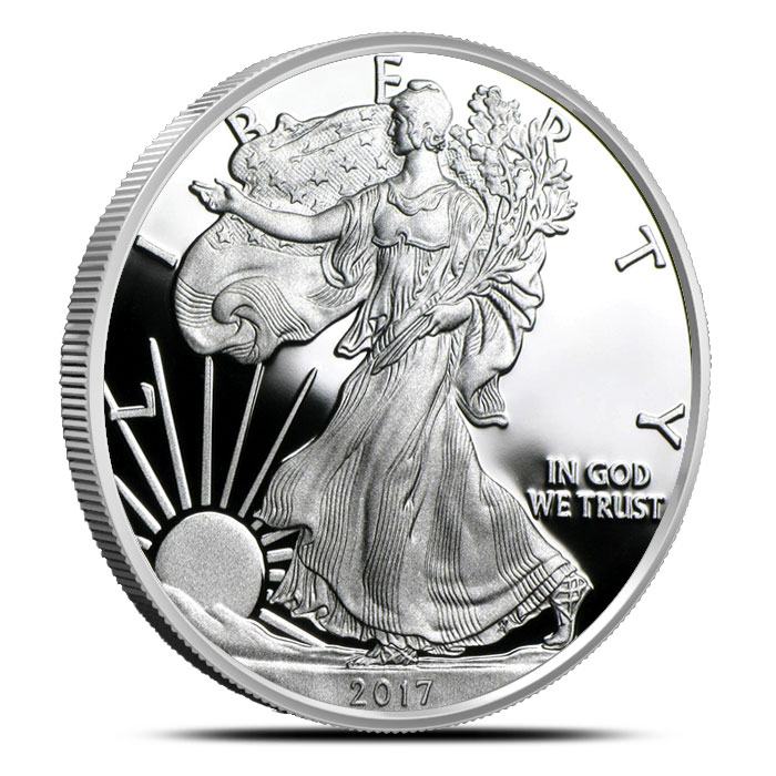 2017 Proof Silver Eagle | Obverse