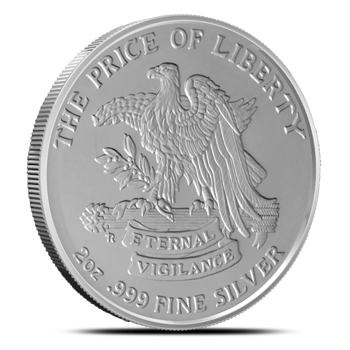 Eternal Vigilance Two Ounce Silver Round