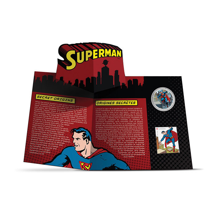 2013 Superman- Then and Now Graphic Folder Inside