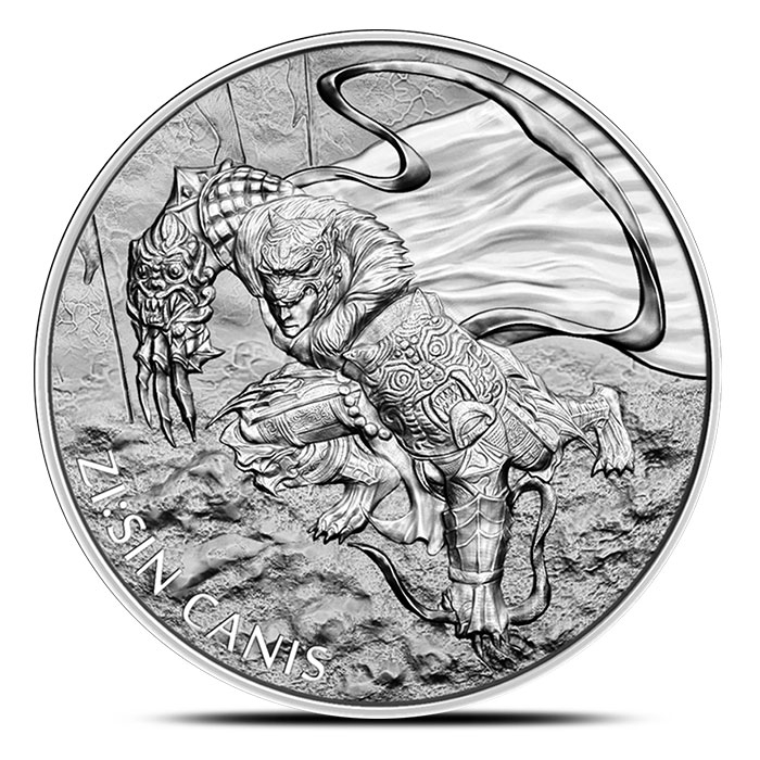 2018 Korean ZI:SIN Canis 1 oz Silver